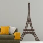 фото 5820  Наклейка на Стену Eiffel Tower цена, отзывы