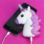 фото 22380  Универсальная портативная батарея Power Bank Единорог Pink цена, отзывы