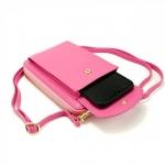 фото 26091   Кошелёк женский, мини-сумочка на плечо Baellerry 3 в 1 (розовый) цена, отзывы