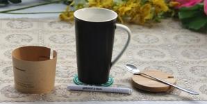 фото 4040  Керамическая чашка Starbucks с маркером цена, отзывы