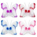 фото 8726  Крылья Бабочки Комбинированные (малиновые) 55х50 см цена, отзывы