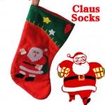 фото 23235  Рождественский носок с апликацией цена, отзывы