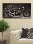 фото 2661  Часы на холсте Мотоцикл 25х50 цена, отзывы