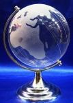 купить Глобус хрустальный белый (4)(7х4,5х4,5 см) цена, отзывы