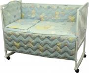 фото 9293  Набор постельного белья в детскую кроватку цена, отзывы