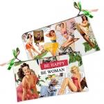 купить Косметичка-кошелек Be happy - Be woman цена, отзывы