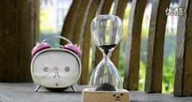 фото 3134  Декоративные стеклянные часы Magnet Hourglass цена, отзывы