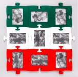 фото 1496  Фоторамки-пазлы (цвета в ассортименте) цена, отзывы