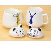 фото 9576  Чашка Кот с галстуком цена, отзывы