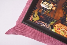 фото 10133  Поднос с подушкой Марокканские фонари цена, отзывы