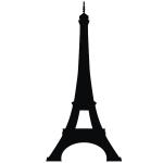 фото 3478  Наклейка Эйфелева башня Big цена, отзывы