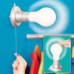 фото 2056  Портативная лампа Stick Up Bulb цена, отзывы