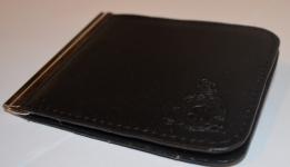 фото 1566  Зажим для денег с кармашеком для мелочи натуральная кожа №2 цена, отзывы