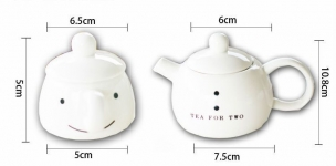 фото 9341  Чайный набор для двоих Снеговик цена, отзывы