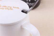 фото 8481  Чашка My Life, My Love, My Style White цена, отзывы