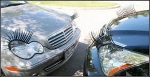 фото 690  Реснички для вашего авто: гибкие, крепятся на разные формы фар цена, отзывы
