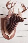 фото 8567  Интерьерная голова оленя 3D пазл цена, отзывы