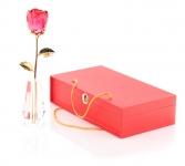 фото 7044  Ваза для розы из стекла сваровски цена, отзывы