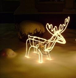 купить LED Олень двигает головой цена, отзывы