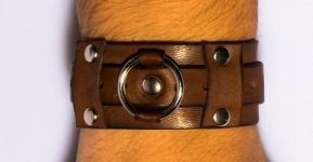 фото 9456  Кожаный браслет GO с пряжкой цена, отзывы