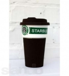 фото 4648  Чашка керамическая кружка Starbucks Brown цена, отзывы