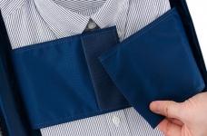 фото 8279  Органайзер для рубашек и блузок синий цена, отзывы