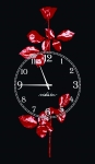 купить Часы на холсте Depeche Mode 25х50 цена, отзывы