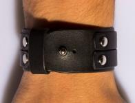 фото 9465  Кожаный узкий браслет Style цена, отзывы