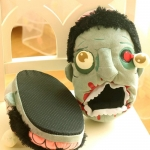фото 22684  Домашние тапочки Зомби цена, отзывы