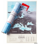 фото 8960  Скретч карта Европы Travel Maps Silver цена, отзывы