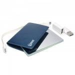 фото 4329  Мобильный аккумулятор Extradigital SLIMLINE chrome цена, отзывы