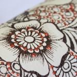 фото 8938  Кот Мартовский с росписью большим цветком цена, отзывы