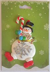 купить Елочная игрушка Снеговик-1 цена, отзывы