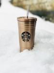 фото 24157  Стакан с крышкой и трубочкой Starbucks Reserve Bronze цена, отзывы