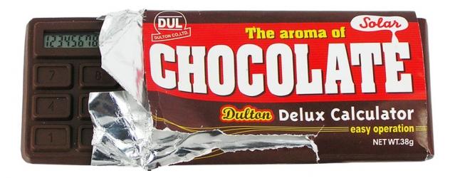 купить Калькулятор - Шоколадка цена, отзывы