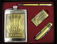 фото 4761  Фляга - подарочный набор Украина цена, отзывы