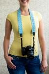фото 6167  Дизайнерский ремень для фотоаппарата мятное чудо цена, отзывы