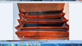 фото 1283  Оригинальная мужская барсетка из натуральной кожи 1 цена, отзывы