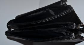 фото 1518  Барсетка кожаная мужская Black 111 цена, отзывы