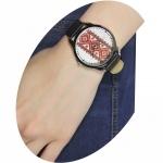 фото 3996  Часы наручные красная вышиванка цена, отзывы