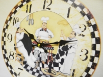 фото 2875  Часы кухонные Повара цена, отзывы