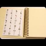 фото 8444  Кулинарная книга-блокнот CookBook+комплект наклеек цена, отзывы