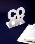 фото 9861  Держатель для книг Cook белый цена, отзывы