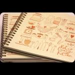 фото 8443  Кулинарная книга-блокнот CookBook+комплект наклеек цена, отзывы