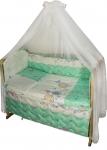 фото 9302  Комплект в детскую кроватку Веселка цена, отзывы