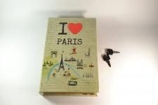 фото 5199  Книга сейф I love Paris 26 см  цена, отзывы