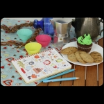 фото 8448  Кулинарная книга - Учусь готовить + комплект наклеек цена, отзывы