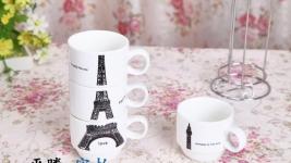 фото 9352  Набор чашек Париж 21 см цена, отзывы