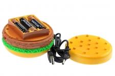 фото 7093  Гамбургер - массажер с USB цена, отзывы