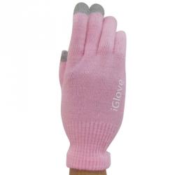 купить Перчатки для iphone Igloves розовые цена, отзывы